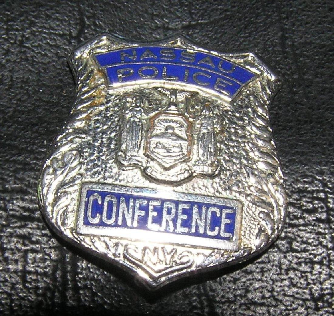 Nassau county police conference police shield
