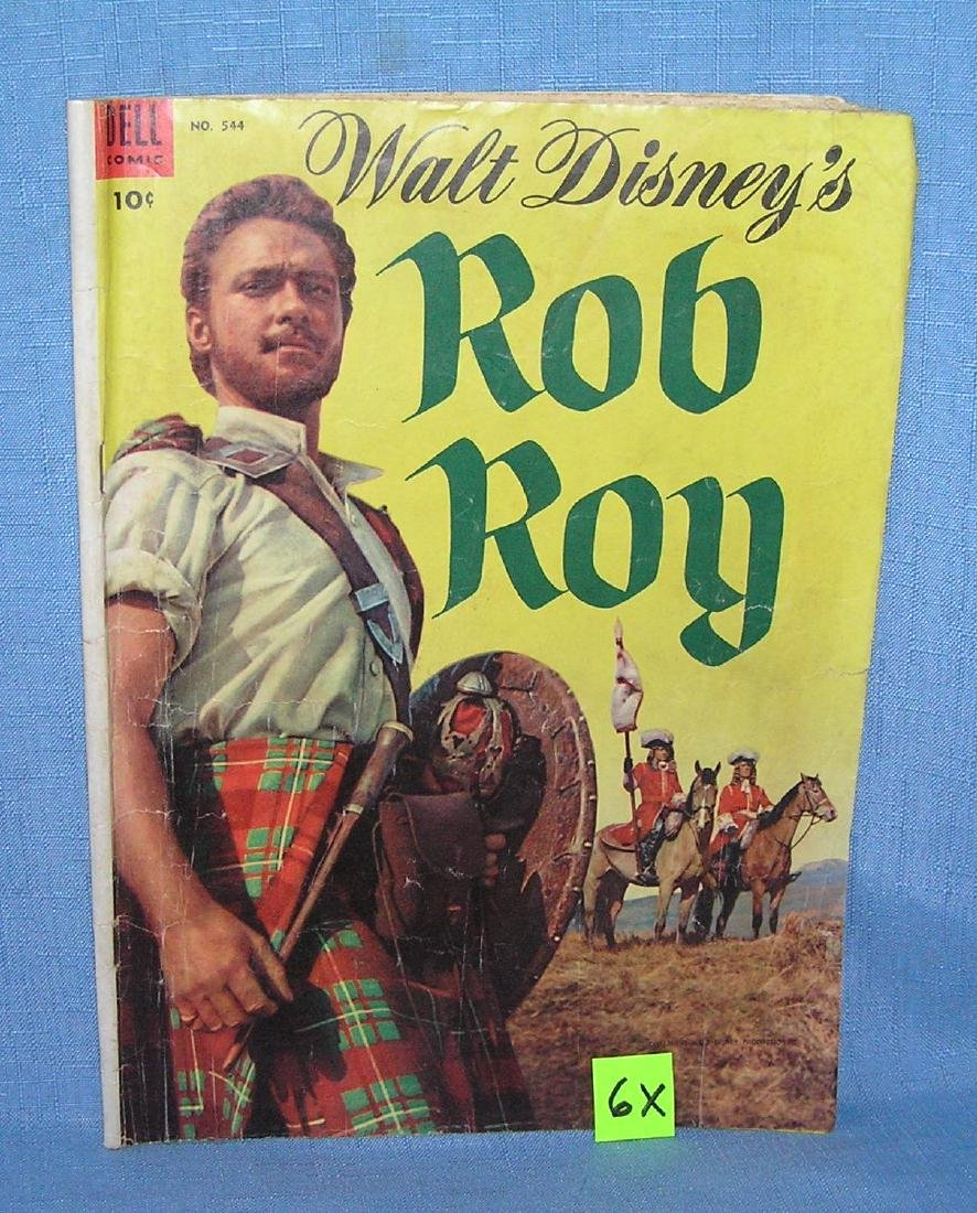 Early 10 cent Walt Disney Rob Roy comic book