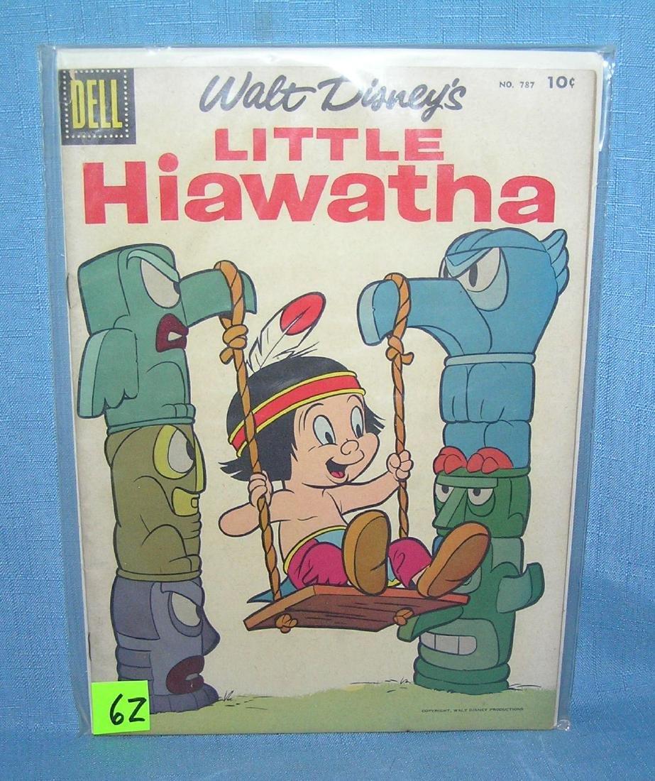 Early 10 cent Walt Disney Little Hiawatha comic book