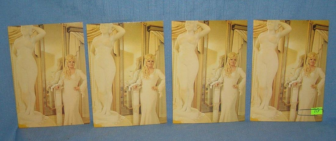Mae West color oversized photo cards