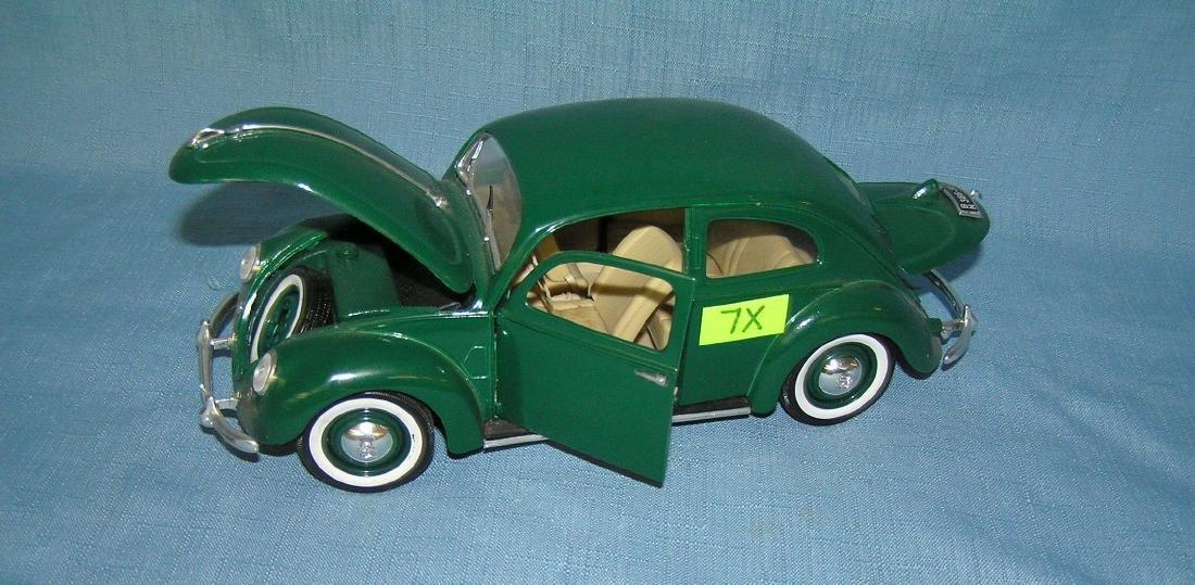 All cast metal 1951 Volkswagon Beetle