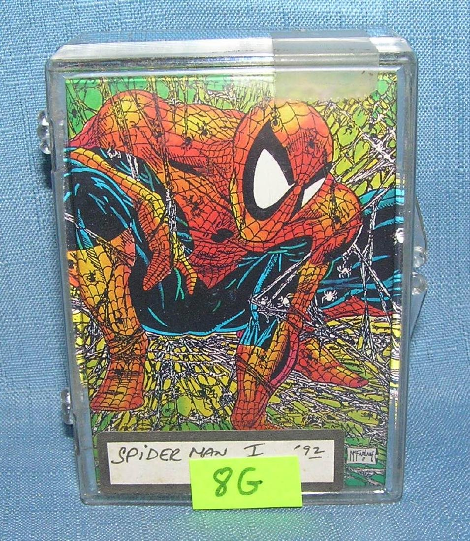 Spider man one super hero card set