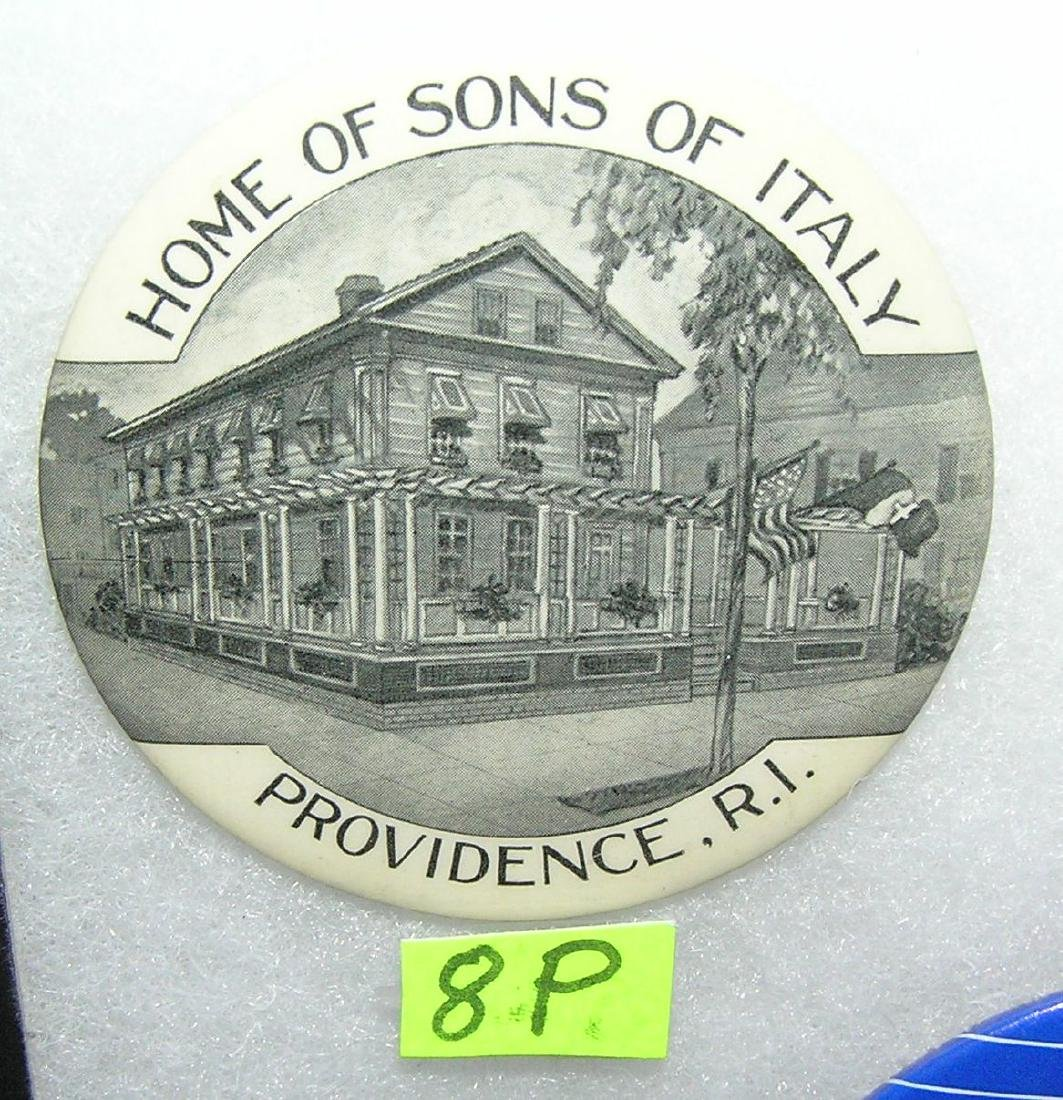 Sons of Italy Providence RI pocket mirror
