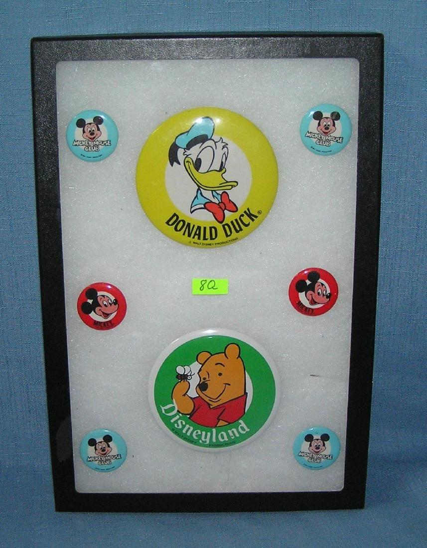 Collection of Disney character pins