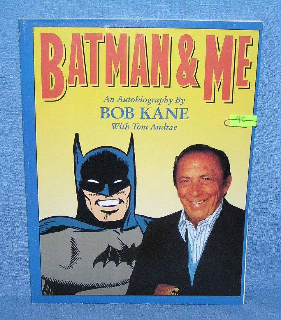 Batman and me autobiography by Bob Kane