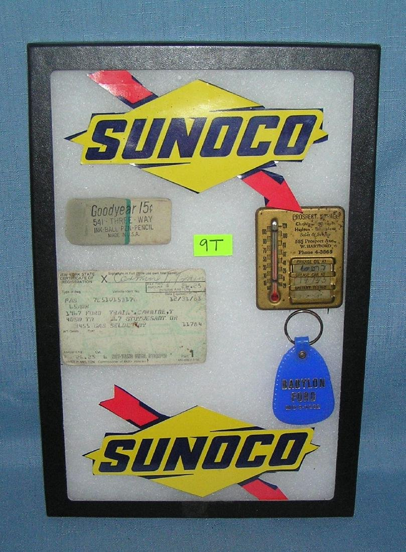 Group of automotive collectibles