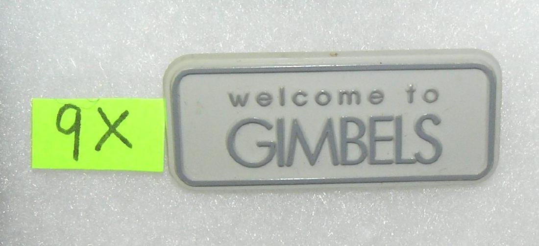 Gimbel's Department stores employee badge