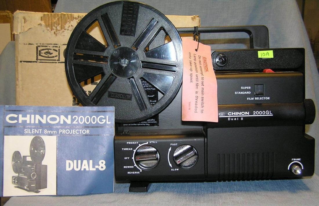 Chinon silent duel 8 movie projector