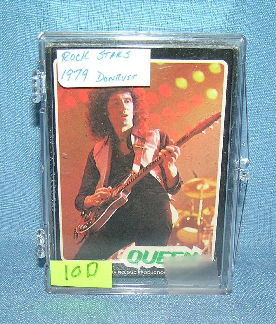 Rock stars card set by Dunruss