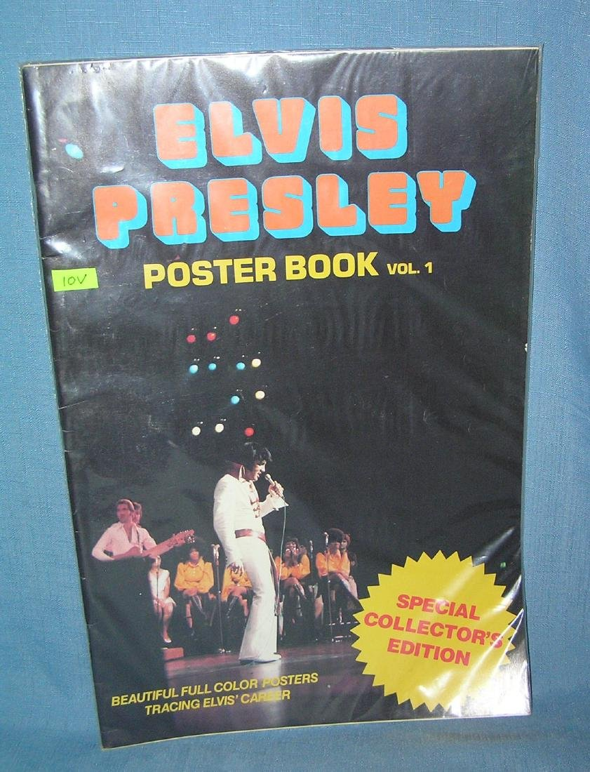 Elvis Presley oversized poster book