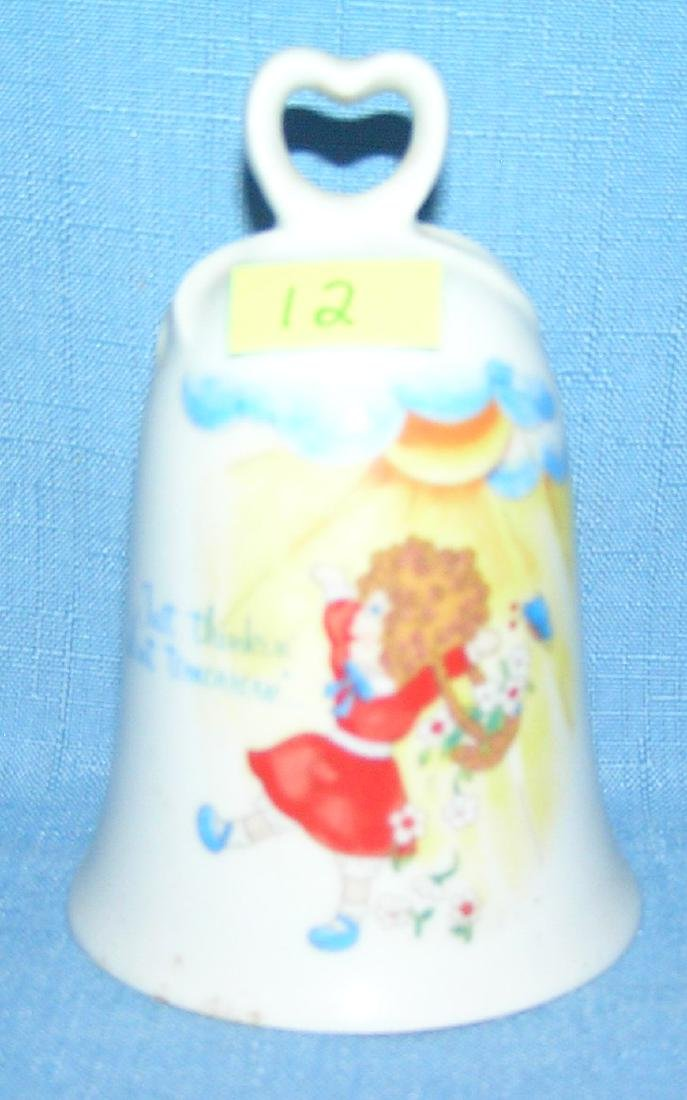 Vintage Annie porcelain bell by Applause