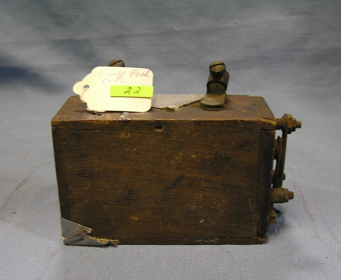 Antique Model T Ford wooden coil