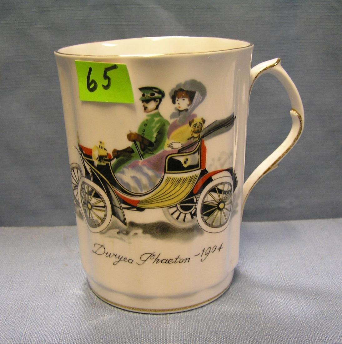 Duryea Phaeton horseless carriage coffee mug