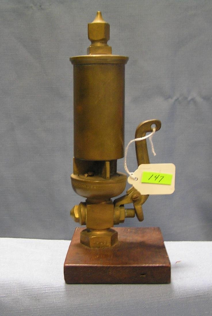 Antique Solid brass steam whistle