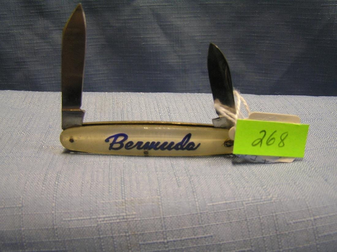 Vintage Bermuda souvenir pocket knife
