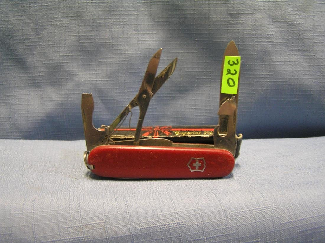 Vintage Swiss Army knife with original box