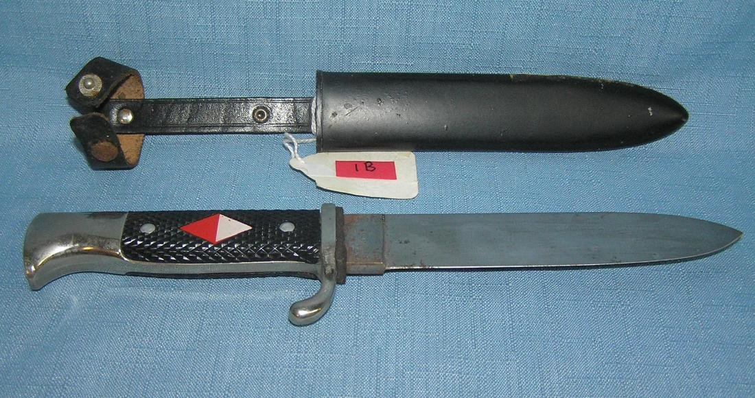 Post war German Hitler Youth style dagger