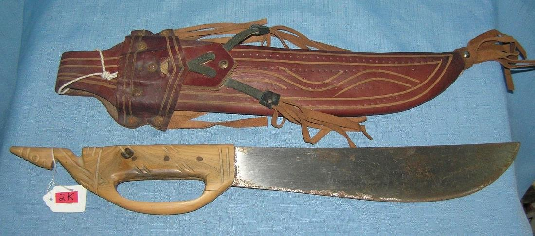Large souvenir machete