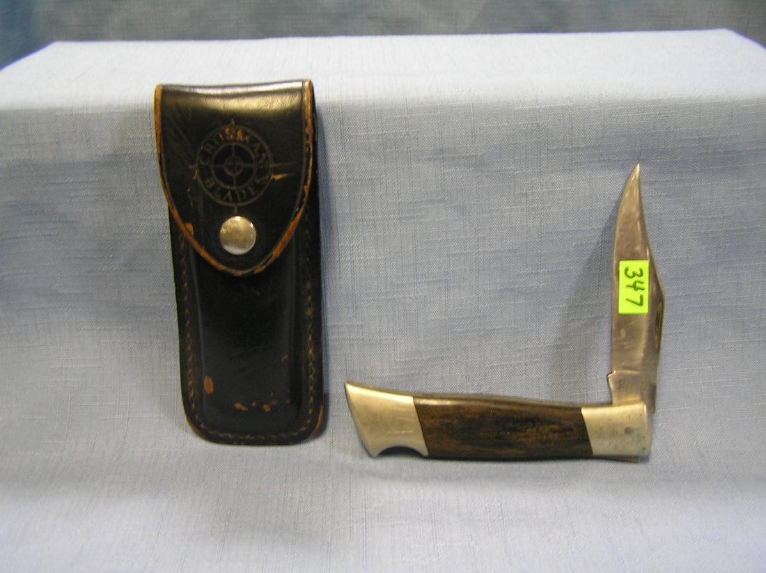 Early Crossman pocket knife