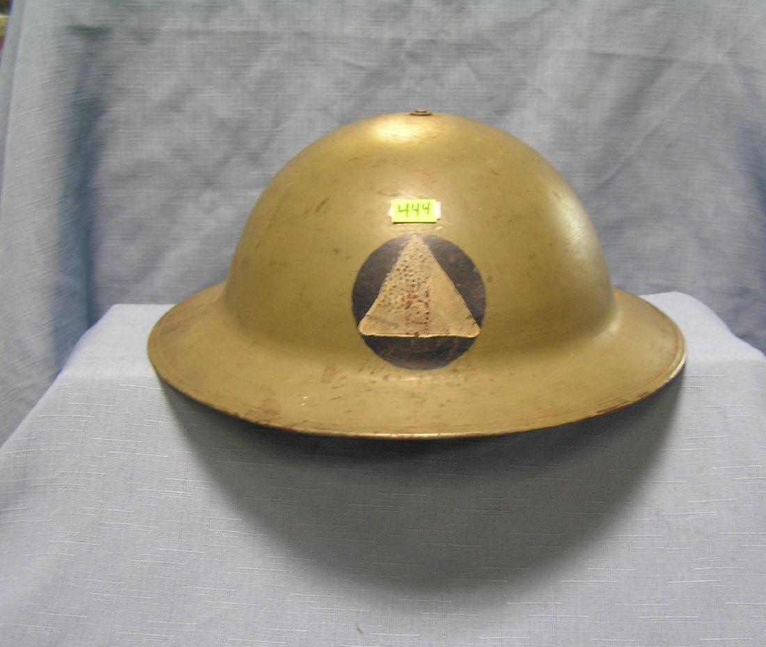 Vintage WWI Doughboy helmet