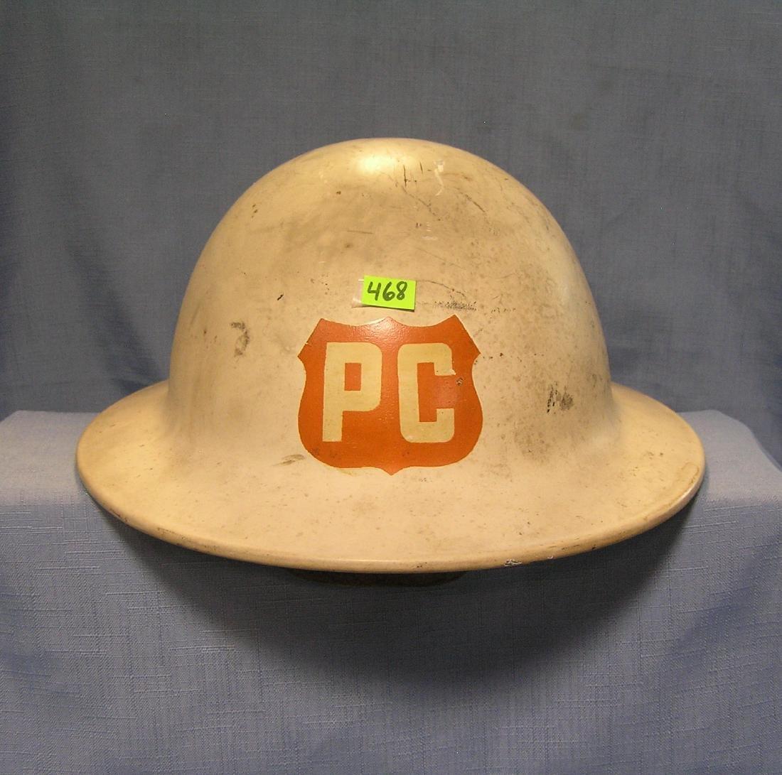WWII Police corps helmet