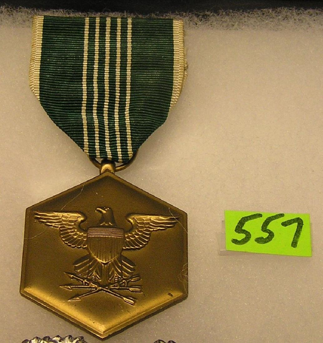 Army commendation medal and ribbon