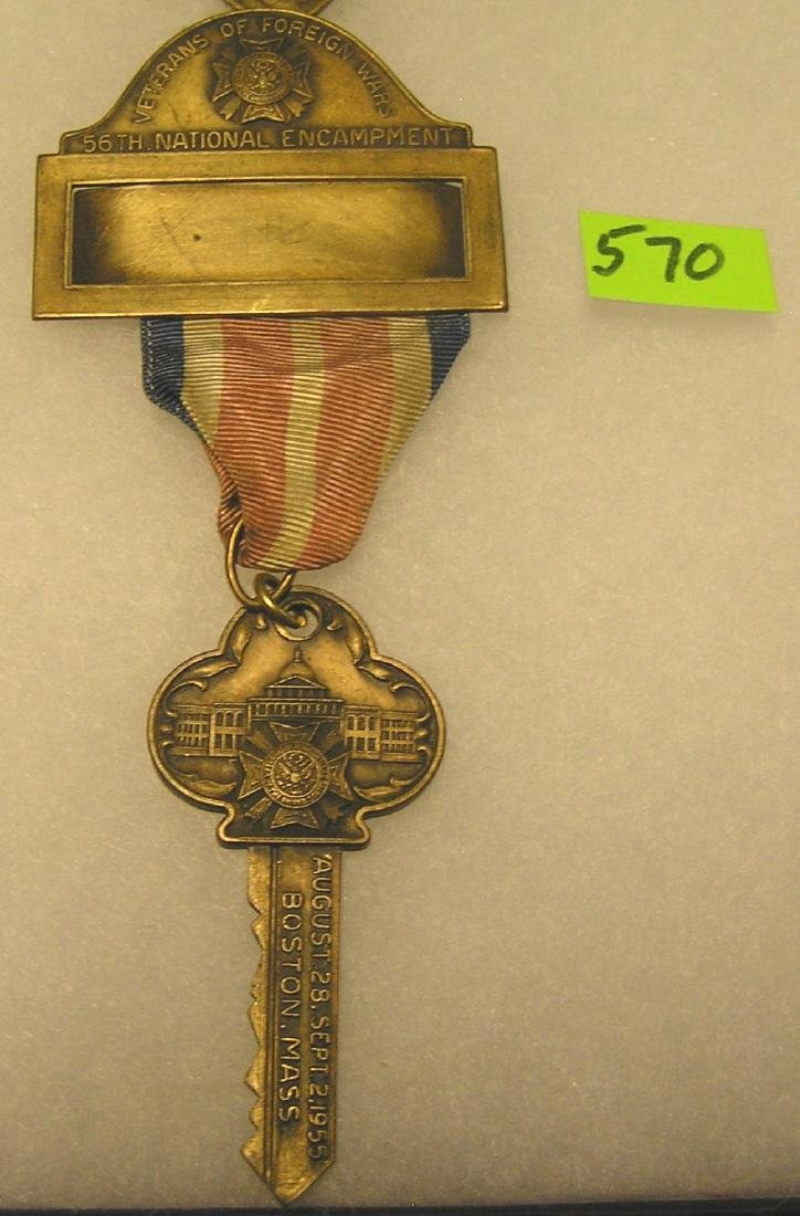 Early veterans of foreign wars souvenir