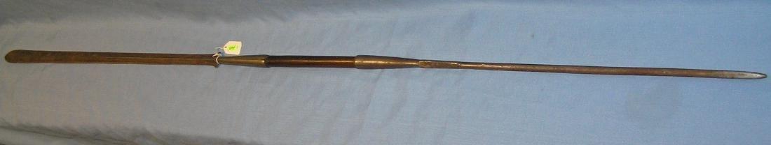 High quality early Zulu warrior spear