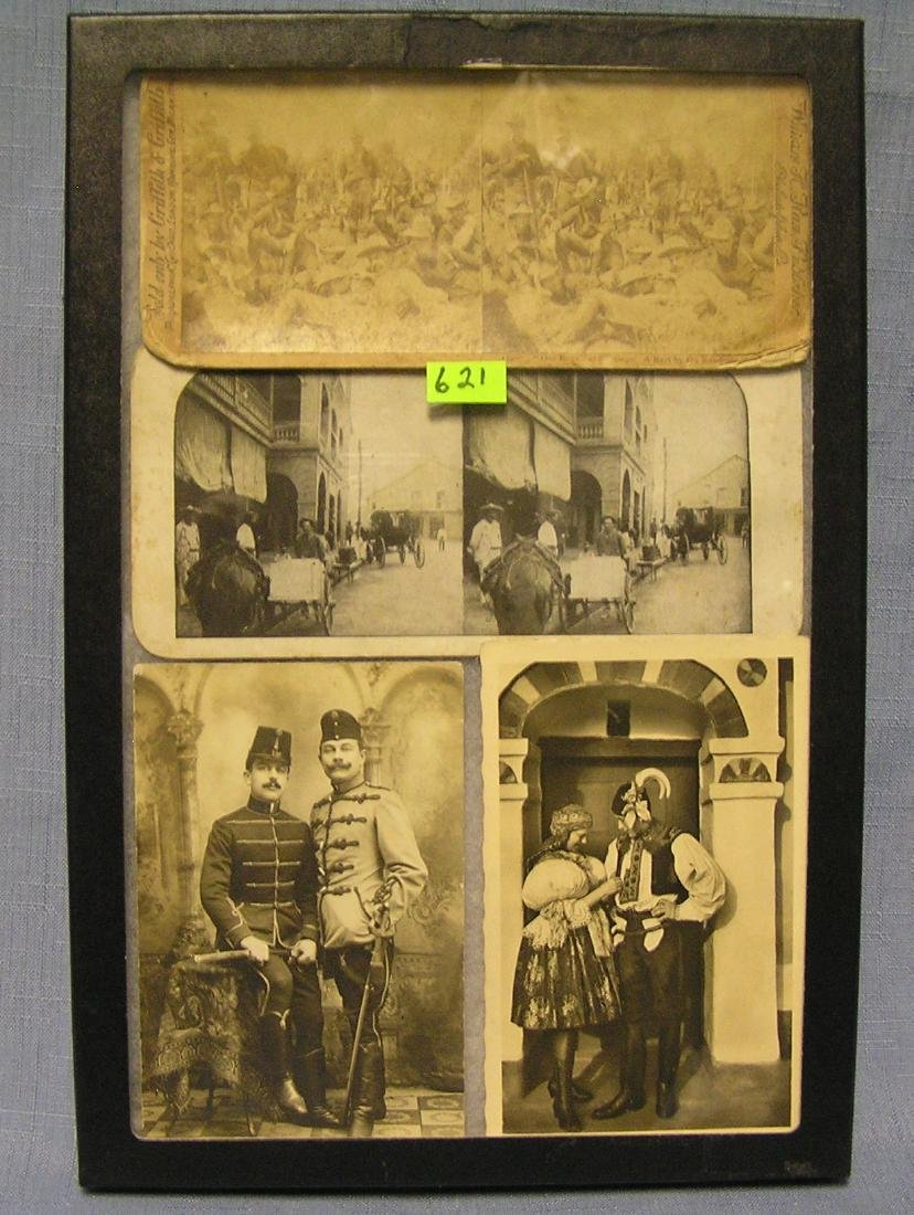 Early WWI panoramic views and post cards