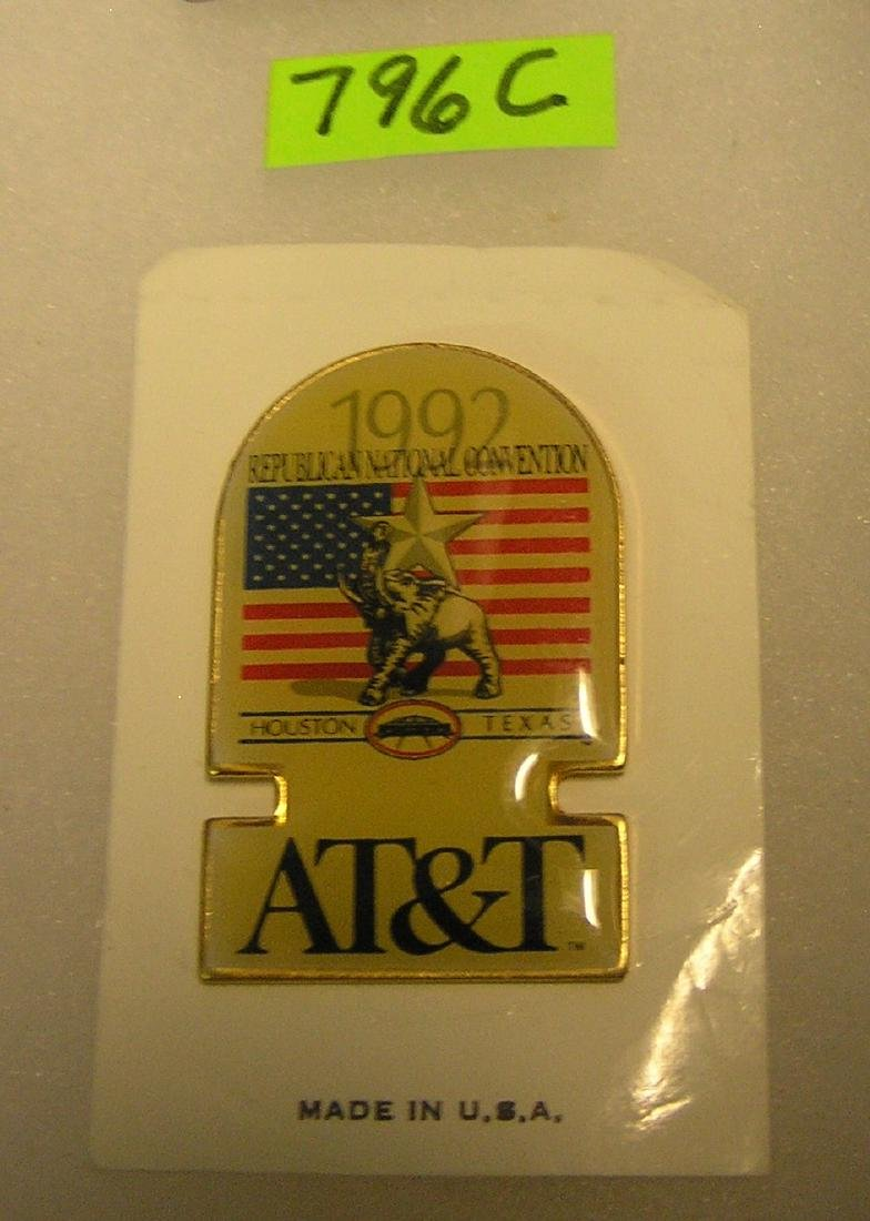 1992 Republican National Convention Badge