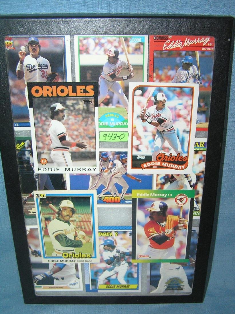 Collection of vintage Eddie Murray all star baseball