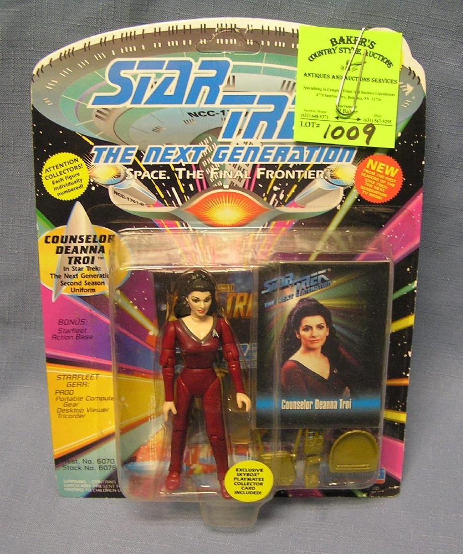 Star Trek Counselor Deanna Troi action figure