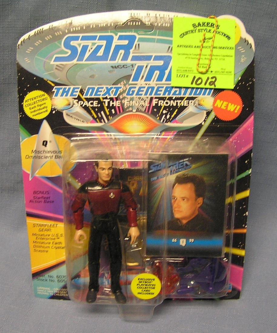 Vintage Star Trek the Q action figure