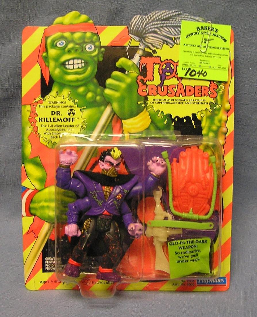 Toxic Crusaders Dr. Killemoff action figure