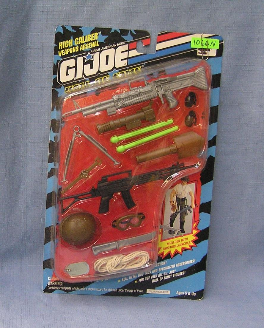 Vintage G. I. Joe high caliber weapons arsenal