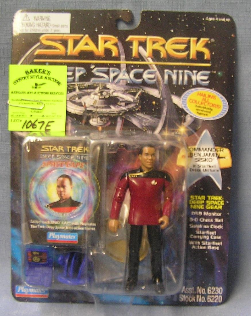 Star Trek action figure: Commander Ben Sisko