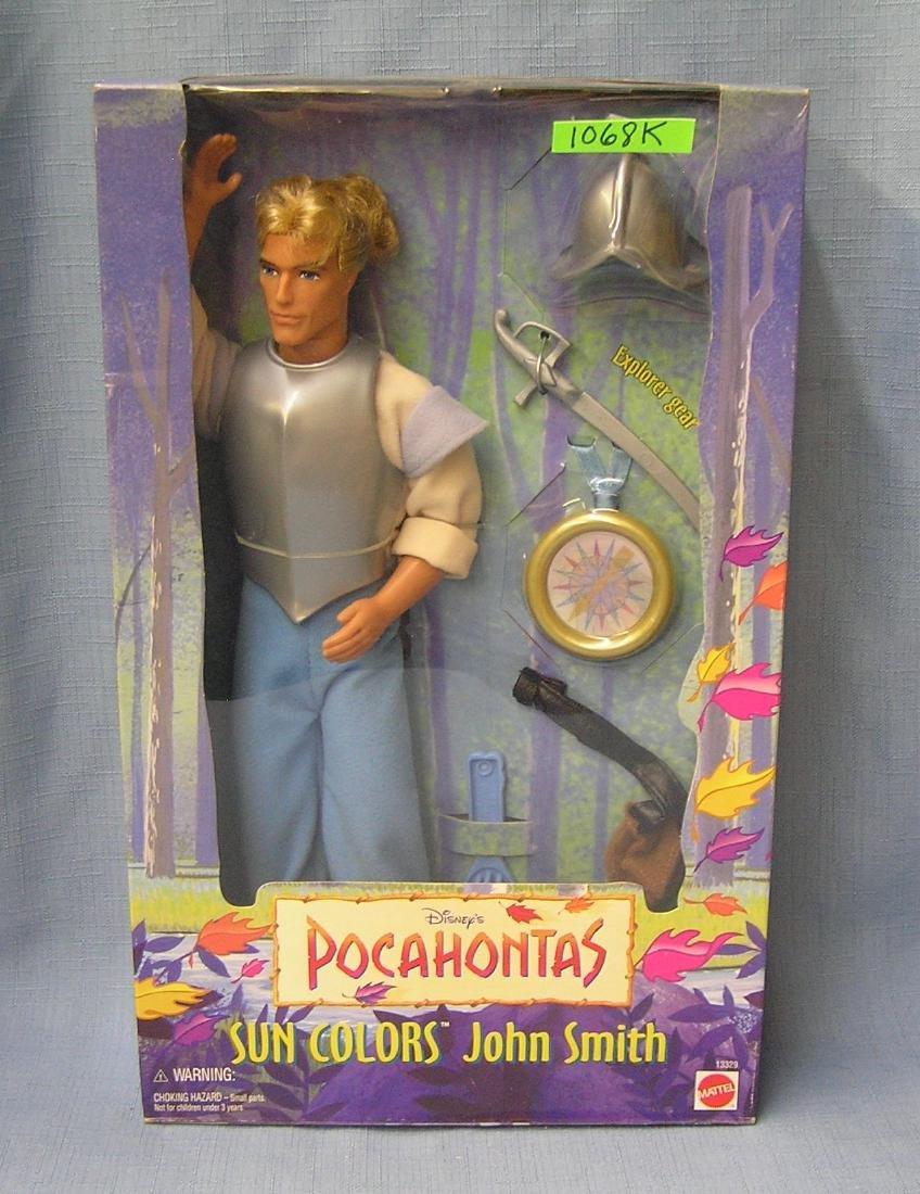 Vintage Pocahontas figural doll