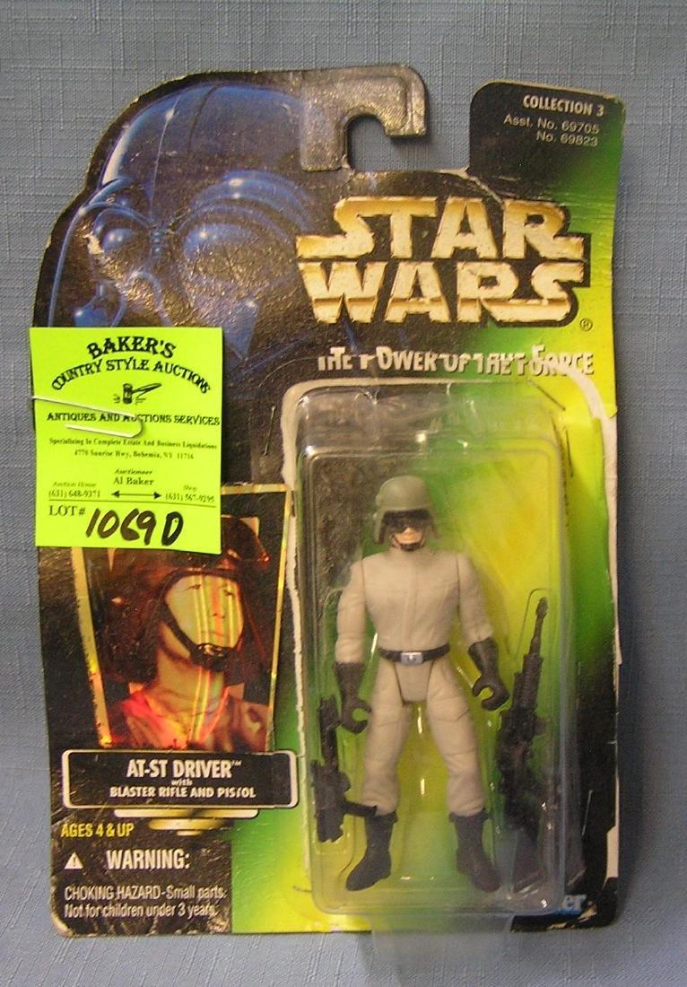 Vintage Star Wars action figure: At-St Driver