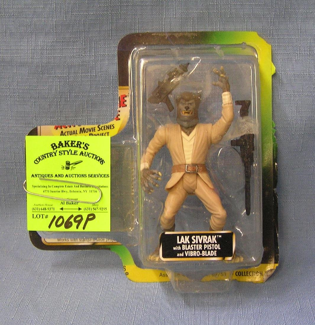 Vintage Star Wars action figure: Lak Sivrak
