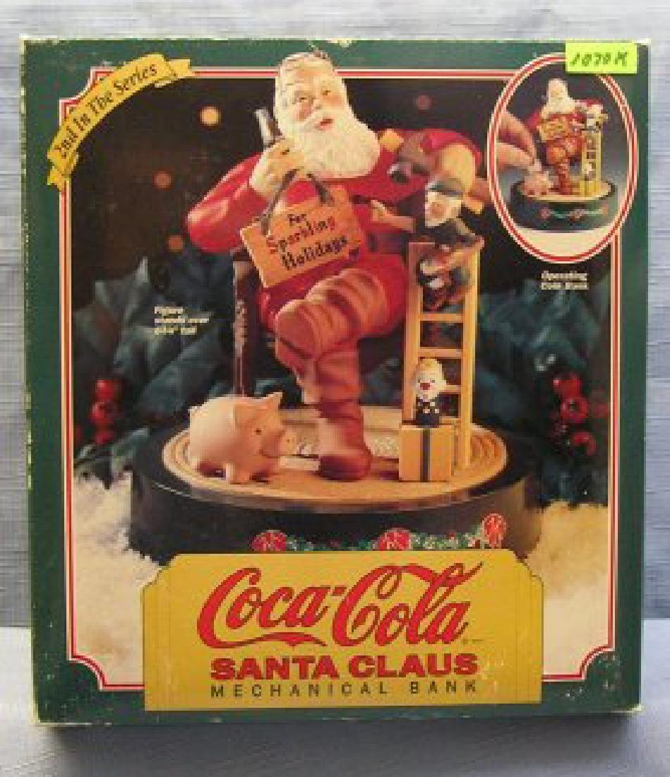 Coca Cola Santa Claus mechanical bank