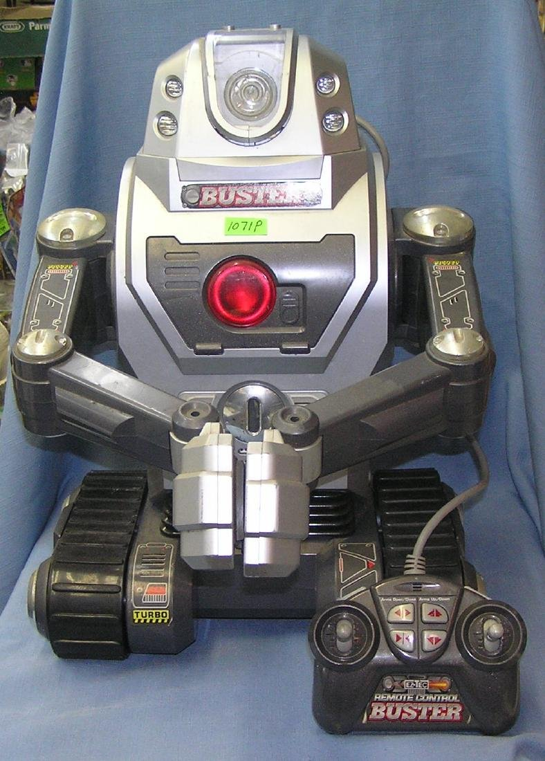 Buster the mechanical robot toy