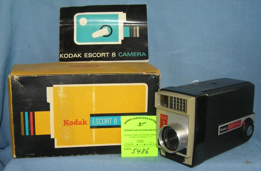 Vintage Kodak escort 8 movie camera