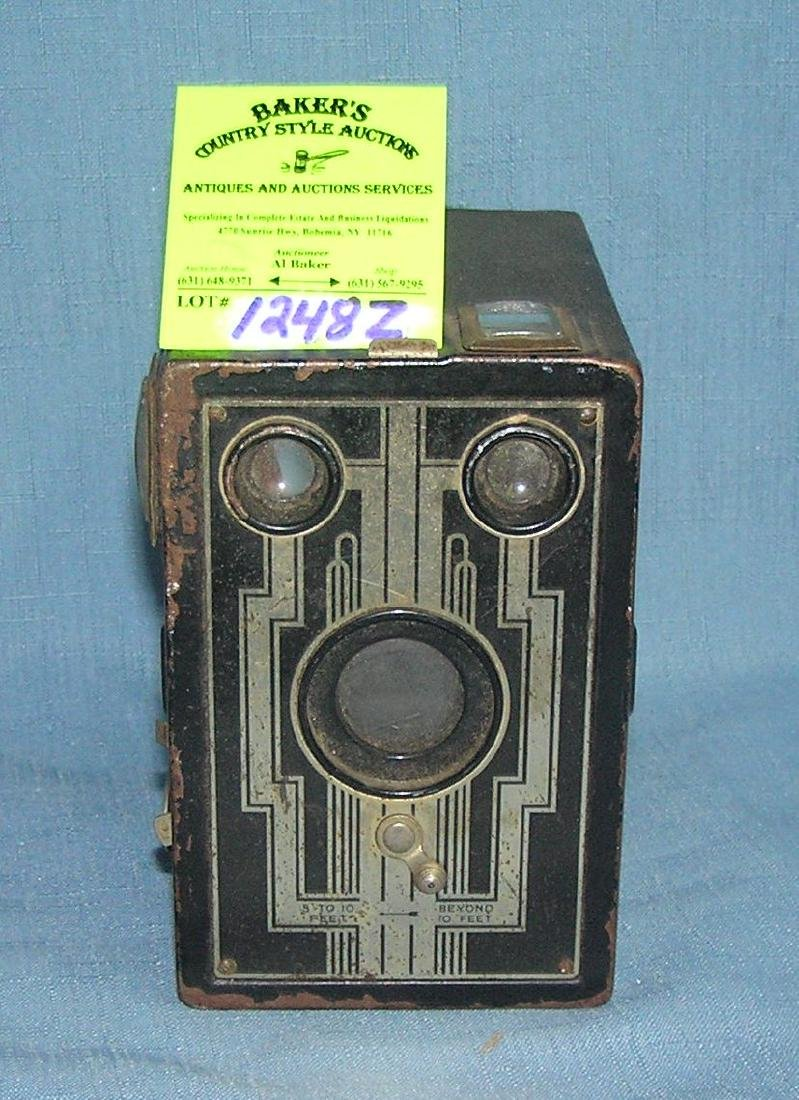 Early Kodak Brownie box camera