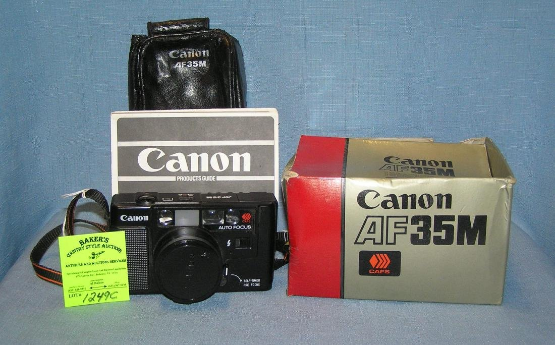 Vintage Canon autofocus 35 mm camera