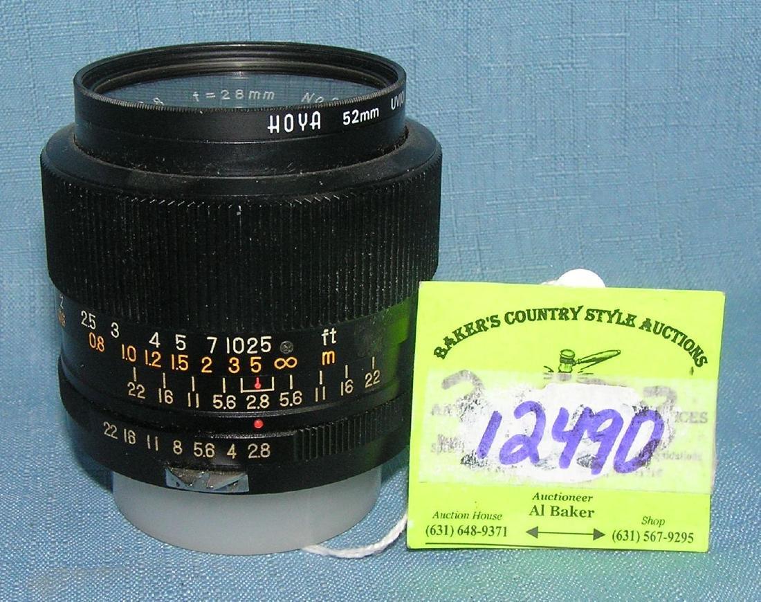 Vintage Hoya 52MM lens