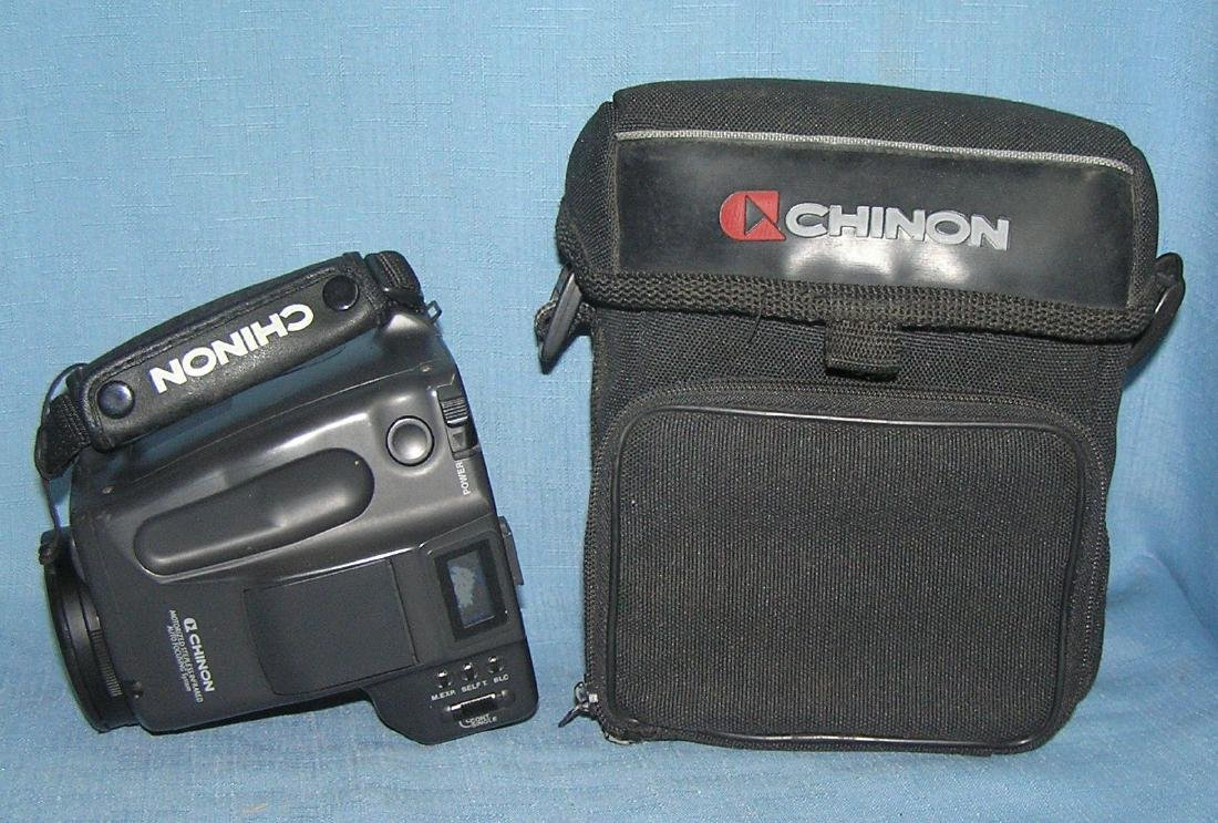 Chinon Genesis 2 camera with zoom macro lens