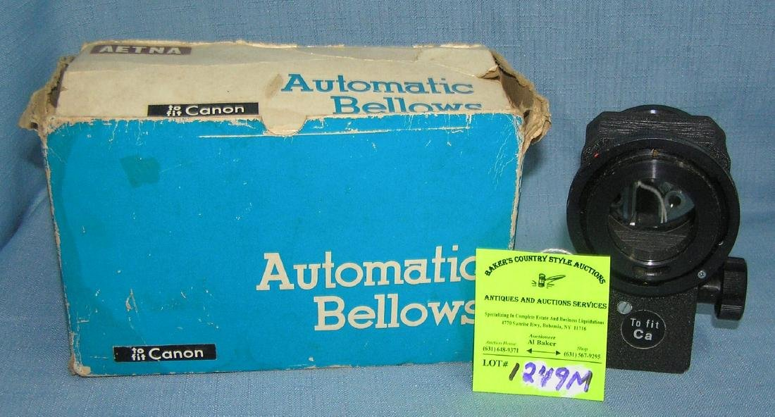 Aetna automatic bellows with original box