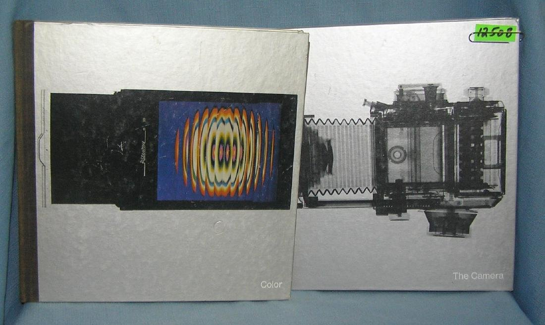 Pair of vintage photography books