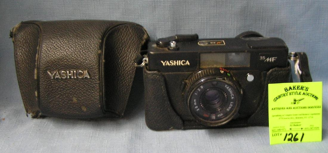 Vintage Yashica 35 mm camera