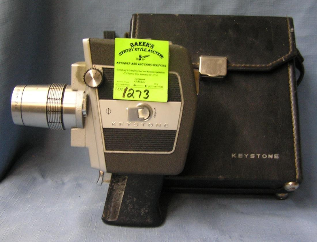 Vintage Keystone load-a-matic movie camera